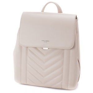 Rucsac de dama David Jones 6501-206 - Bej