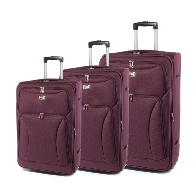 Set de valise Perect line T1006-23 - Bordo