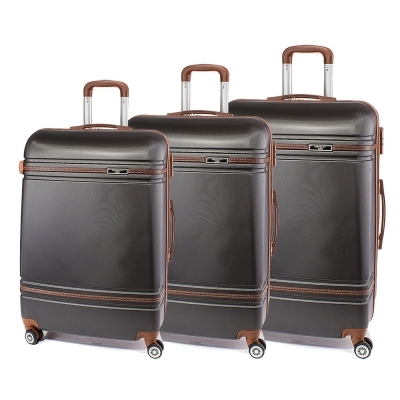 Set de valise Perect line T1007-34 - Gri inchis