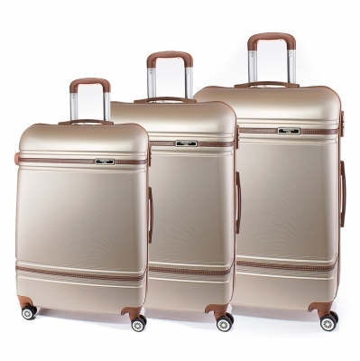 Set de valise Perect line T1007-12 - Auriu