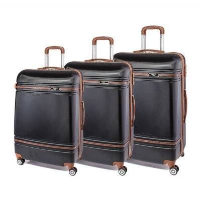 Set de valise Perect line T1007-08 - Negru